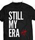 ジェイ・ホワイト「STILL MY ERA」Tシャツ(ブラッ..