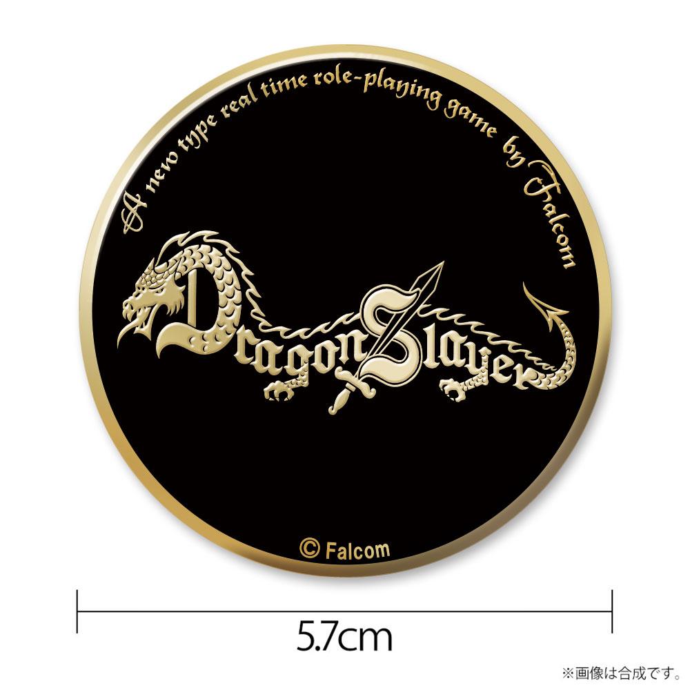 ドラゴンスレイヤー メタルバッジ