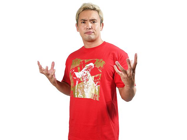 オカダ・カズチカ「THE R」Tシャツ