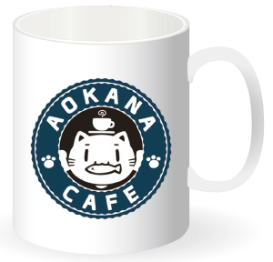 あおかなカフェマグカップ (邪神ちゃん)