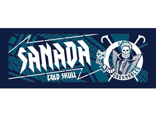 SANADA「sotd」スポーツタオル