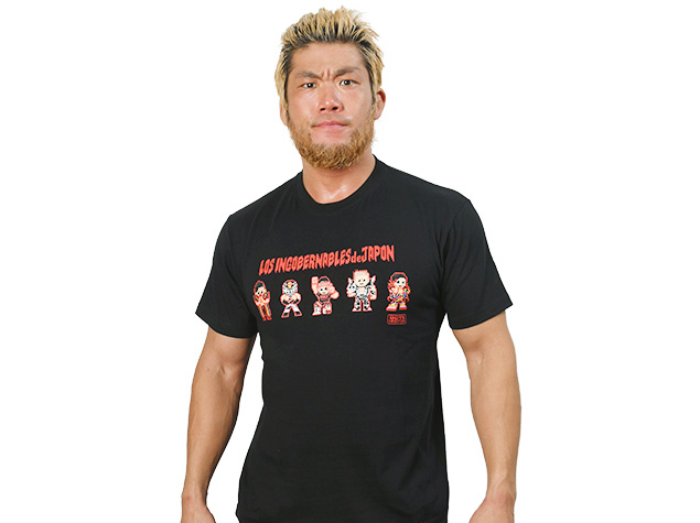 L・I・J「dotswrestler」Tシャツ(ブラック)