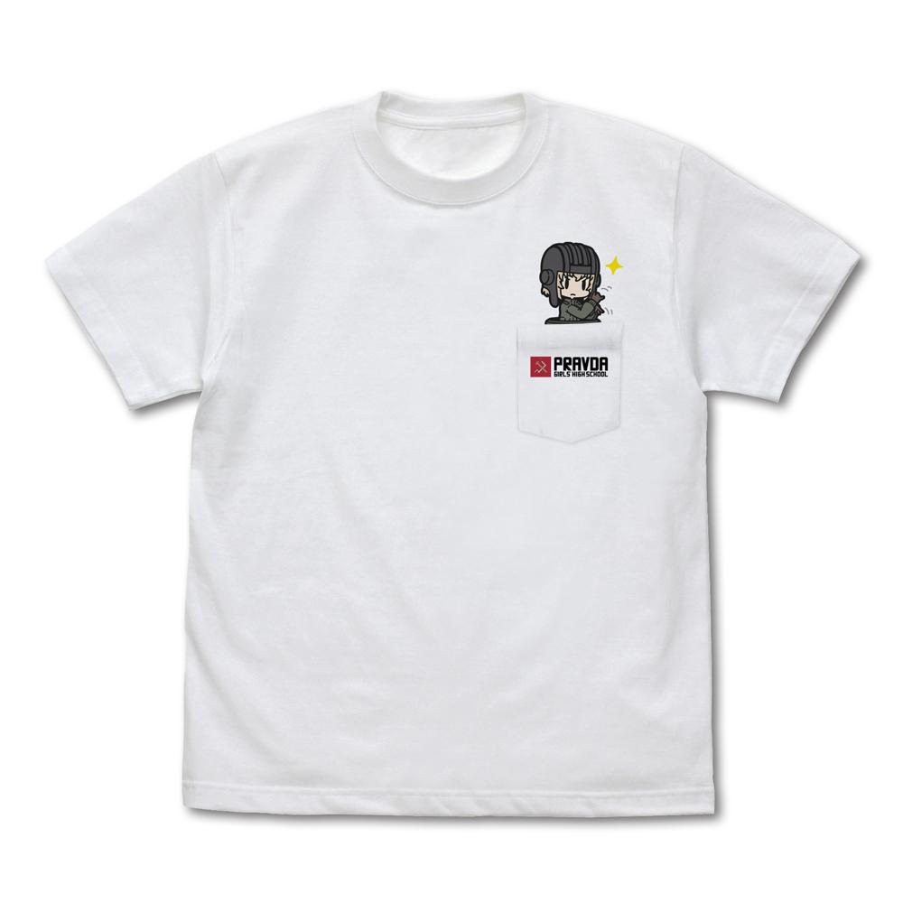 手影絵カチューシャ フルカラーポケットTシャツ
