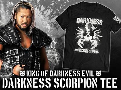 EVIL「DARKNESS SCORPION」Tシャツ