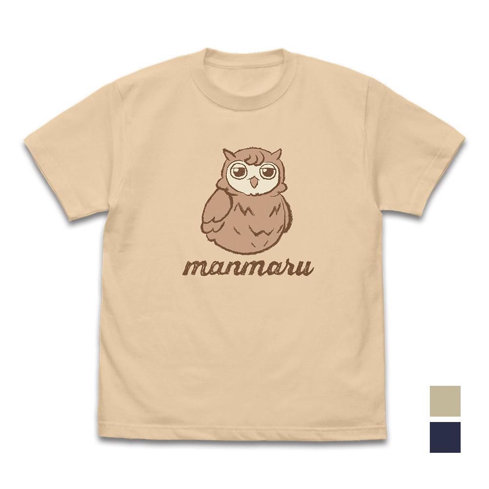 マンマル 手描き風Tシャツ