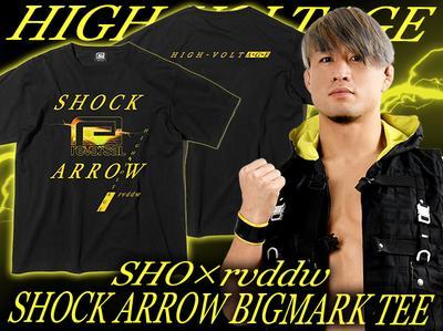 SHO「SHOCK ARROW BIG MARK TEE」
