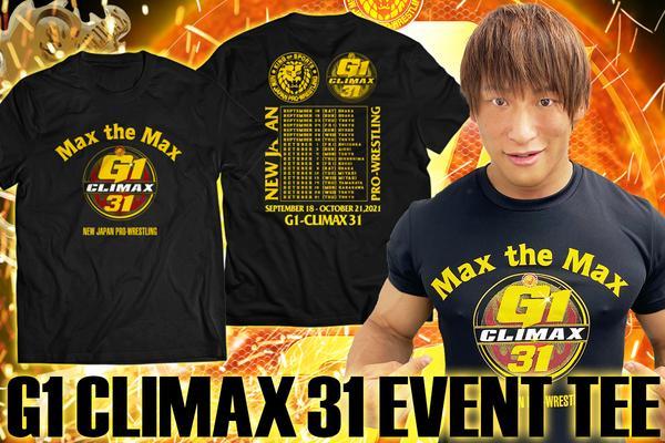 G1 CLIMAX 31 大会記念 ドライTシャツ