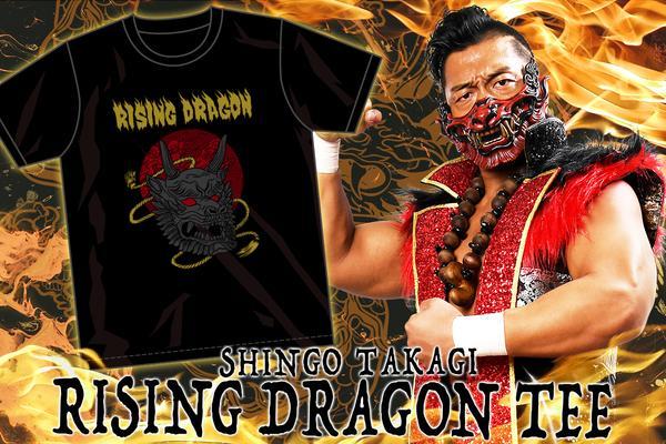 鷹木信悟「RISING DRAGON」Tシャツ