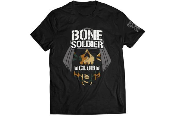 石森太二 BONE SOLDIER カモTシャツ