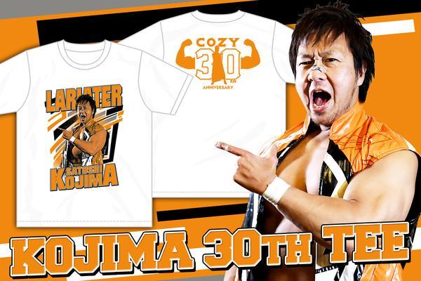 小島聡「KOJIMA 30th」Tシャツ