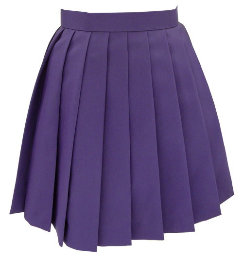 Where can you find a free pleated mini skirt pattern