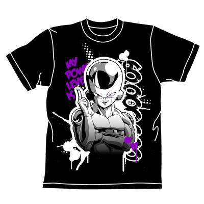 ドラゴンボール/ドラゴンボールZ/フリーザ戦闘力Tシャツ