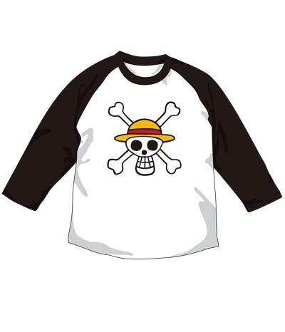 ONE PIECE/ワンピース/海賊旗ラグランTシャツ