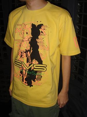 鏡音リン&鏡音レン/鏡音リン/鏡音リングラフィックTシャツ
