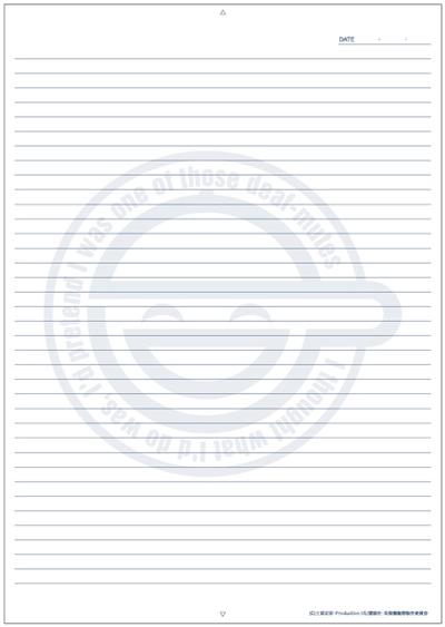 ノートに攻殻機動隊笑い男の壁紙
