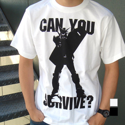 ガンダム/機動戦士ガンダム/can you survive? Tシャツ