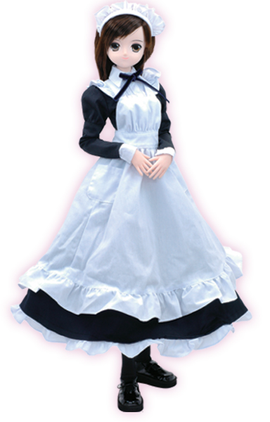 CURE MAID CAFE'/CURE MAID CAFE'/AOD606-CML 60cmドール CURE MAID CAFE' in LYCEE(冬服)