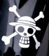 ルフィ海賊旗カッティングステッカー