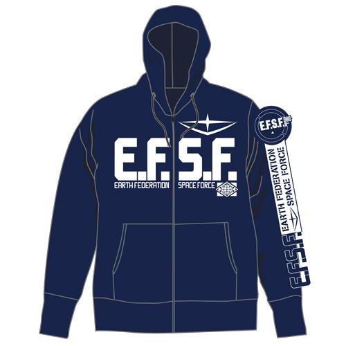 E.F.S.F.ジップパーカー [機動戦...