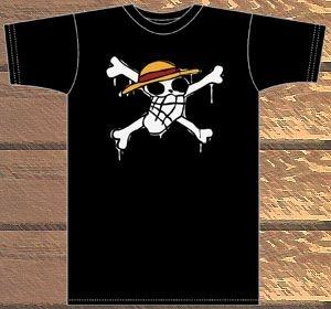 ONE PIECE/ワンピース/ルフィの海賊旗Tシャツ