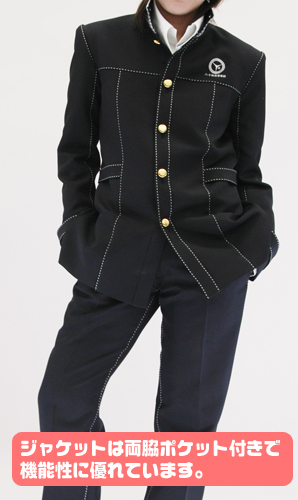 ペルソナ/ペルソナ4 ザ・ゴールデン/八十神高校 男子制服冬服 ジャケット