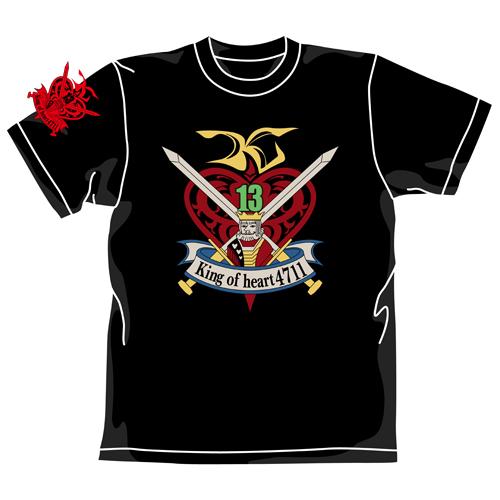 ガンダム/機動武闘伝Gガンダム/キングオブハートTシャツ