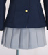 桜が丘女子高等学校 スカート
