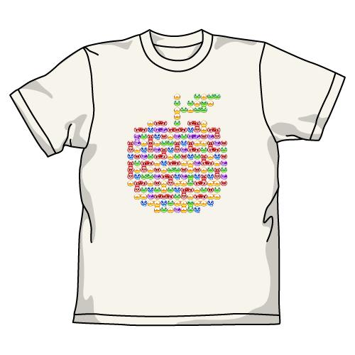 ぷよぷよ/ぷよぷよ7/ぷよりんごTシャツ