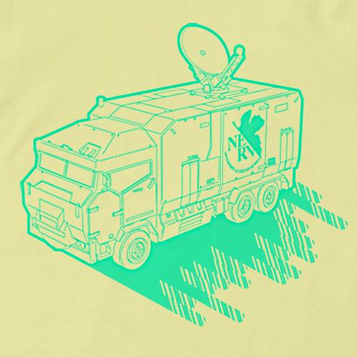 エヴァンゲリオン/EVANGELION/ネルフ作戦指揮車Tシャツ