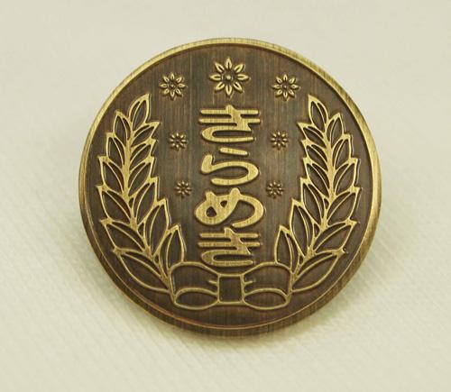 ときめきメモリアル/ときめきメモリアル4/きらめき高校胸章ピンズ