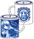 夜明け前より瑠璃色な/夜明け前より瑠璃色な-Moonlight Cradle-/朝霧麻衣フタ付きマグカップ