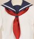 第七学区立柵川中学校 女子制服 セーラージャケット