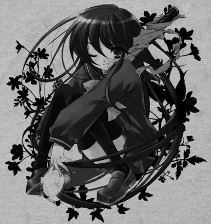 灼眼のシャナ/灼眼のシャナ/シャナリーフTシャツ