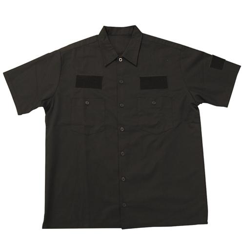 メーカーオリジナル/COSPAオリジナル/ワッペンベースワークシャツ