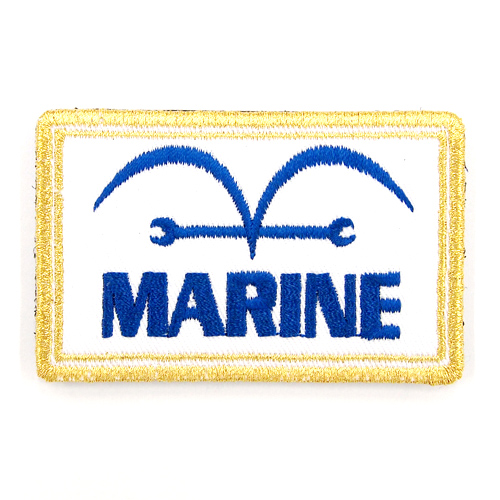 ONE PIECE/ワンピース/海軍脱着式ワッペン