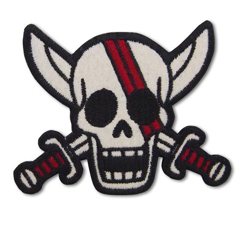 ONE PIECE/ワンピース/赤髪海賊団脱着式ワッペン