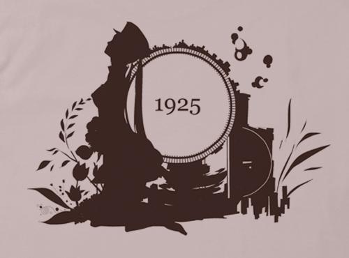 初音ミク 1925 | 1925シルエット...