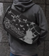 黒猫メッセンジャーバッグ