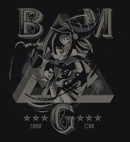遊☆戯☆王/遊☆戯☆王デュエルモンスターズ/ブラックマジシャンガールTシャツ
