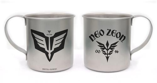 ガンダム/機動戦士ガンダムUC(ユニコーン)/ネオ・ジオンステンレスマグカップ