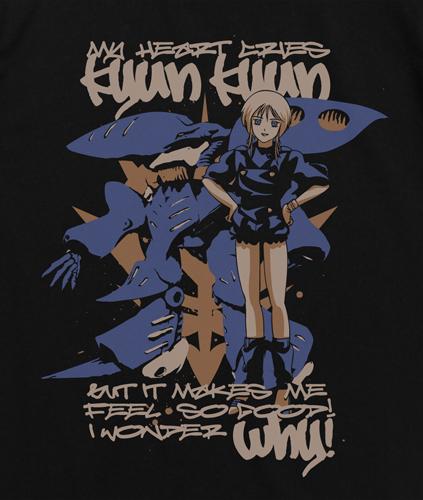 ガンダム/機動戦士ガンダムZZ/プルTシャツ