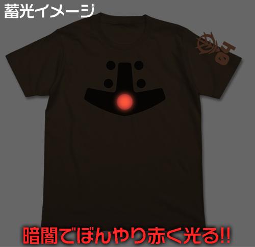 ガンダム/機動戦士ガンダム/アッガイモノアイ蓄光Tシャツ