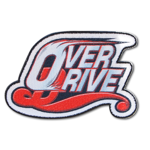 OVERDRIVE/OVERDRIVE/OVERDRIVEロゴ脱着式ワッペン
