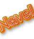 Navel/Navel/Navelロゴ脱着式ワッペン