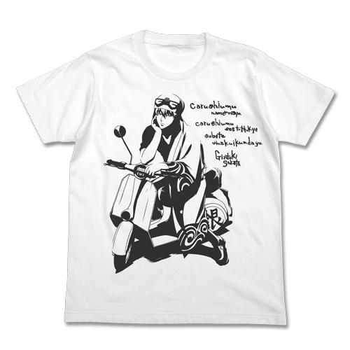 銀魂/銀魂/バイクと銀さんTシャツ