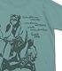 バイクと銀さんTシャツ