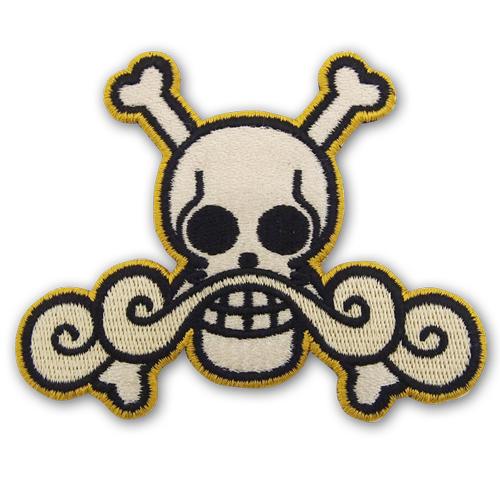 ONE PIECE/ワンピース/ロジャー海賊団脱着式ワッペン