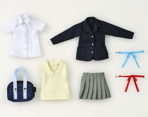 けいおん!/けいおん!/1/6 桜が丘女子高等学校制服ミニコスチュームセット