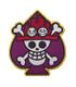 ONE PIECE/ワンピース/赤髪海賊団ワッペン