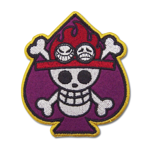 ONE PIECE/ワンピース/スペード海賊団脱着式ワッペン